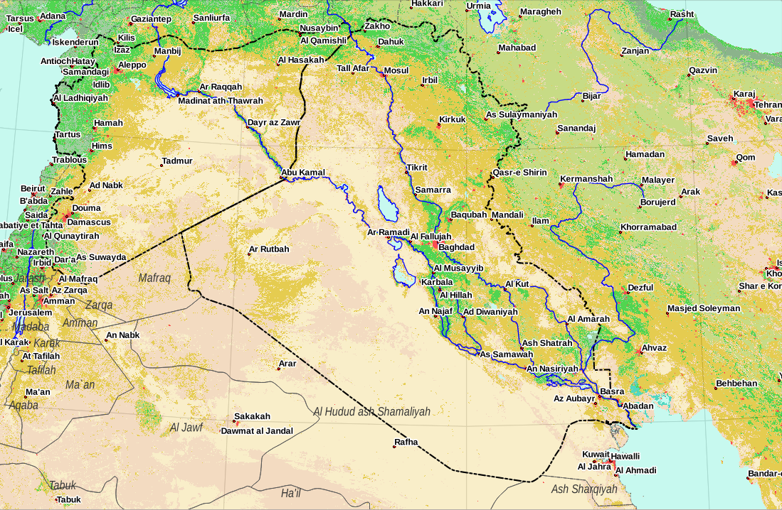 Isis kurds iraq and syria urbanpolicy 140611iraqcitieslandcover gumiabroncs Gallery